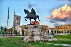 Албания tirana Стоковые Изображения