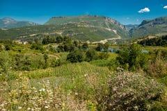 Албанская сельская местность Стоковое фото RF