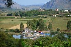 Албанская сельская местность Стоковые Фотографии RF