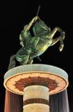 Александр Македонский на лошади Стоковые Фото