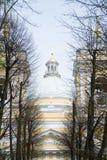 Александр Nevsky Lavra в Санкт-Петербурге России Стоковое фото RF
