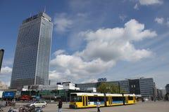 Александр Platz в Берлине Стоковая Фотография