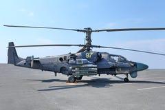Аллигатор вертолета Ka-52 Стоковые Фото