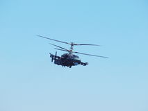Аллигатор вертолета Ka-52 Стоковое Изображение RF