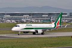 Алиталиа-Compagnia Aerea Italiana Стоковые Фото