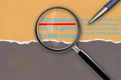 Алкоголизм стоковое фото