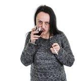 Алкоголичка Стоковое Изображение