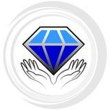 Алмаз иллюстрация штока