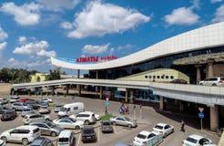 Алма-Ата - авиапорт Алма-Аты Стоковые Изображения