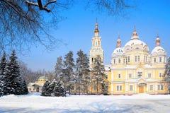 Алма-Ата, Казахстан Стоковые Фотографии RF