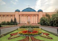 Алма-Ата - центральный музей положения стоковые фотографии rf