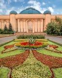 Алма-Ата - центральный музей положения стоковые изображения