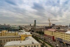 Администрация города Екатеринбурга 20-ого августа 2014 России стоковая фотография rf