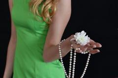 ладонь цветка Стоковые Изображения RF