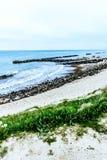 адриатический взгляд моря Италии пляжа Стоковые Изображения