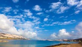 Адриатический пляж Стоковое Фото