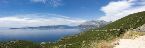 адриатическое море Хорватии Стоковые Фото
