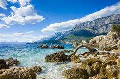 Адриатическое море Хорватия Европа Стоковое фото RF