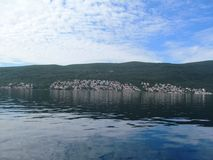 Адриатическое море, Черногория Стоковая Фотография RF