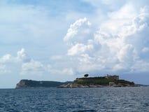 Адриатическое море, Черногория Стоковое фото RF