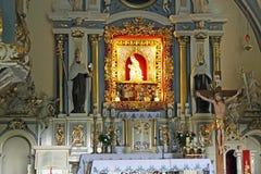 Алтар в церков Стоковые Фото