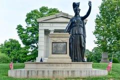 Алтар к свободе: Minerva стоковое изображение