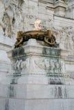 Алтар отечества в Риме Италии Стоковая Фотография