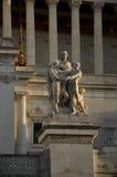Алтар отечества Рима Италии Стоковая Фотография