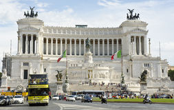 Алтар отечества, Рим, Италия стоковая фотография rf