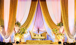 Алтар свадьбы стоковые изображения rf
