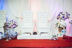 Алтар свадьбы стоковое изображение rf