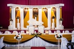 Алтар свадьбы Стоковое Изображение