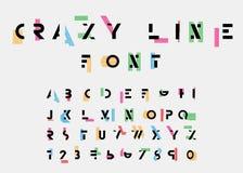 Алфавитные шрифты Стоковые Изображения RF