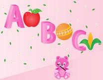 Алфавиты для ABC детей Стоковое Фото
