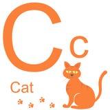 Алфавит вектора с животными c Стоковые Фотографии RF