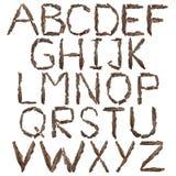 алфавит Комплект Стоковое Изображение