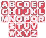 Алфавит пластилина Стоковая Фотография RF
