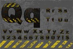 Алфавит техника (часть 2 2) Стоковые Изображения