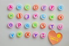 алфавит abc помечает буквами механически расписание комплекта Стоковые Изображения RF