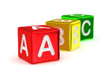 Алфавит ABC Стоковая Фотография RF