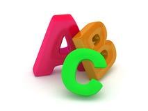 Алфавит ABC Стоковые Изображения