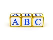 Алфавит ABC Стоковые Изображения RF