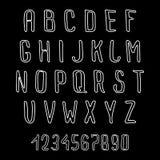 Алфавит Doodle Стоковые Фотографии RF