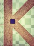 Алфавит k Стоковые Изображения