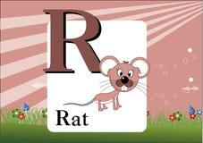 Алфавит-R Стоковое фото RF