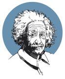 Альберт Эйнштейн Стоковое фото RF