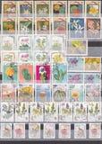 Альбом штемпеля - цветки Стоковое фото RF