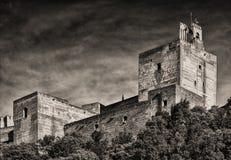 Альгамбра Стоковое Фото