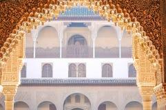 Альгамбра de Гранада стоковое фото