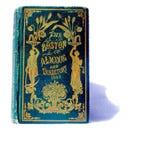 Альманах обложки книги старого золота Стоковое фото RF